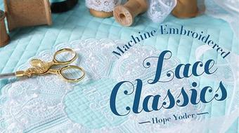 Machine Embroidered Lace Classics course image