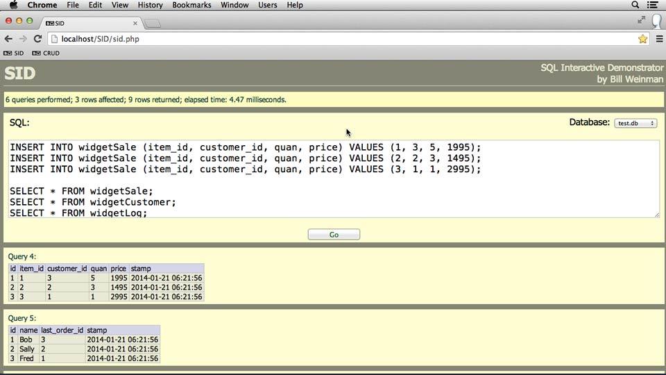 SQL Essential Training course image
