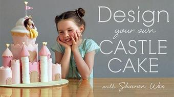 Design Your Own Castle Cake course image