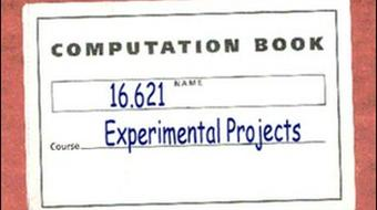 Experimental Projects I course image