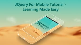 JQuery For Mobile Tutorial - Learning Made Easy course image