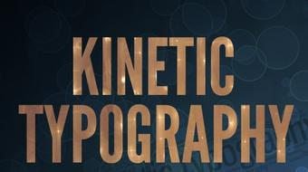 Kinetic Typography: Make Engaging Motion Graphics Videos Now course image