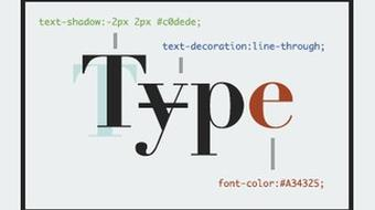 CSS3 Typography Techniques course image