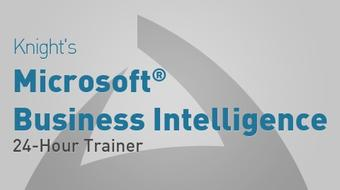 Knight's Microsoft Business Intelligence 24-Hour Trainer    course image