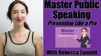 Master Public Speaking: Presenting Like a Pro course image