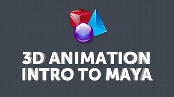 AutoDesk Maya: 3D Animations & Visual Effects for Beginners course image