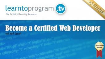 Become a Certified Web Developer course image