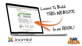 Learn How To Build A Corporate Website Using Joomla! 2.5 course image