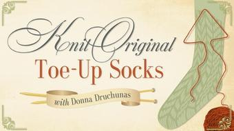 Knit Original Toe-Up Socks course image