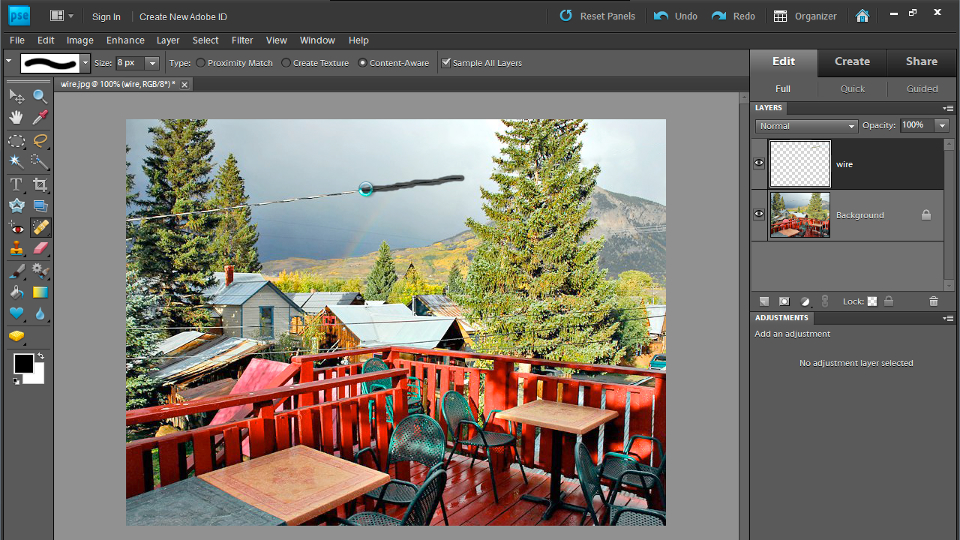 Photoshop Elements 9 Essential Training course image