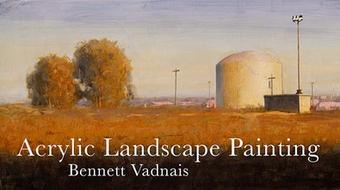 Acrylic Landscape Painting course image