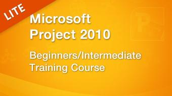 Introduction to Microsoft Project 2010 course image
