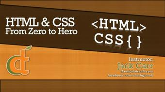 HTML and CSS Beginner Guide course image
