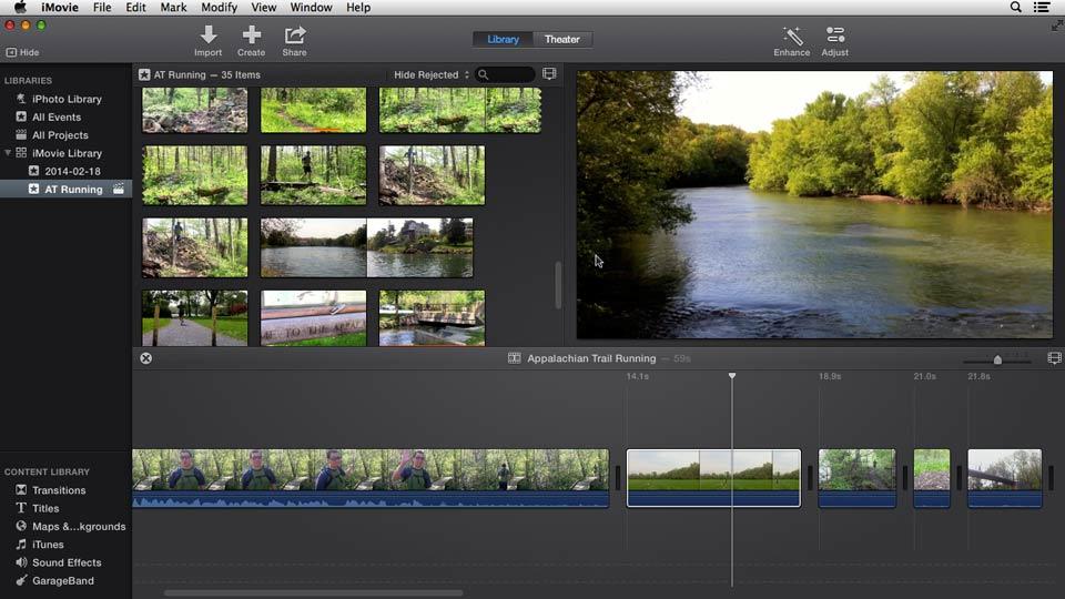 Premiere pro editing software
