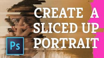 Create a Photo Mosaic from ONE Photo in Photoshop! course image