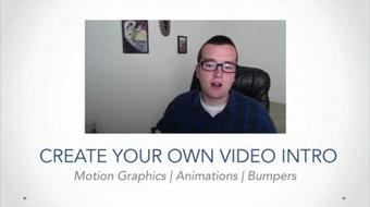 Creative Video Intros with After Effects course image