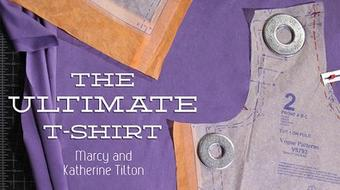 The Ultimate T-Shirt: Fitting & Construction course image