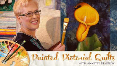 Painted Pictorial Quilts course image