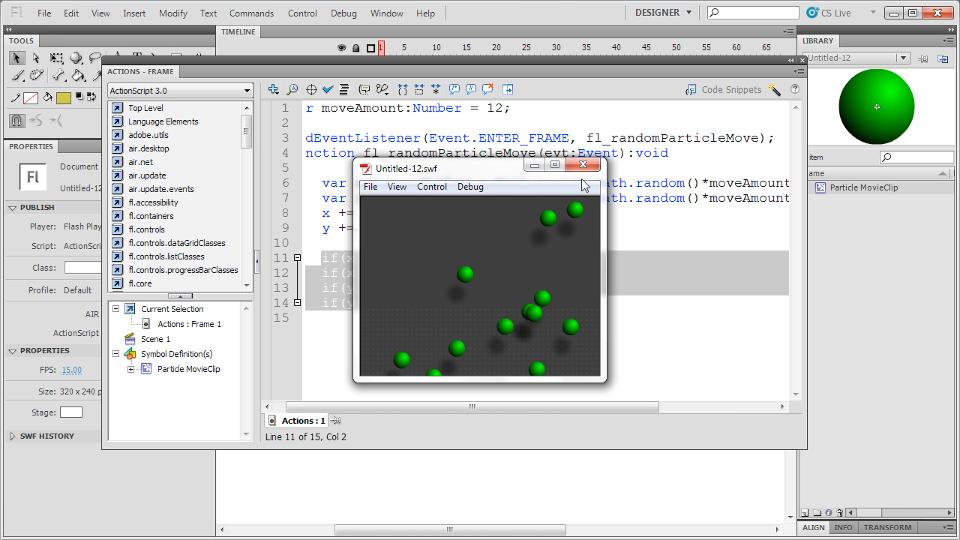 lynda - flash professional cs5: code snippets and templates in depth, Flash Cs5 Presentation Template, Presentation templates