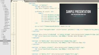 Online Presentations with reveal.js course image