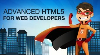 Advanced HTML5 Tutorial for Web Developers course image