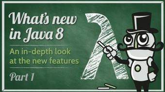 What's New in Java 8: Lambdas course image