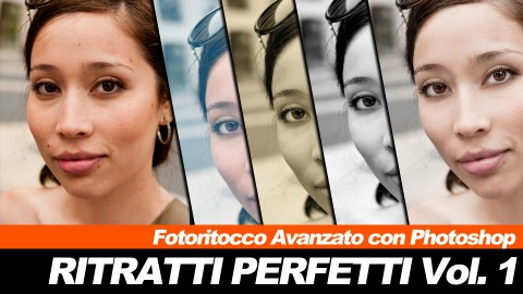 Fotoritocco avanzato con Photoshop - Ritratti Perfetti vol.1 course image