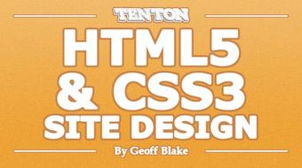 HTML5 & CSS3 Site Design course image