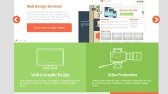 Mastering Flat Design course image