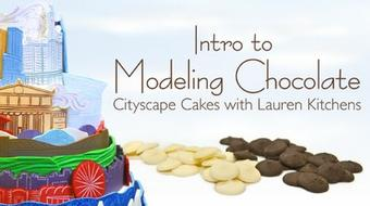 Intro to Modeling Chocolate: Cityscape Cakes course image