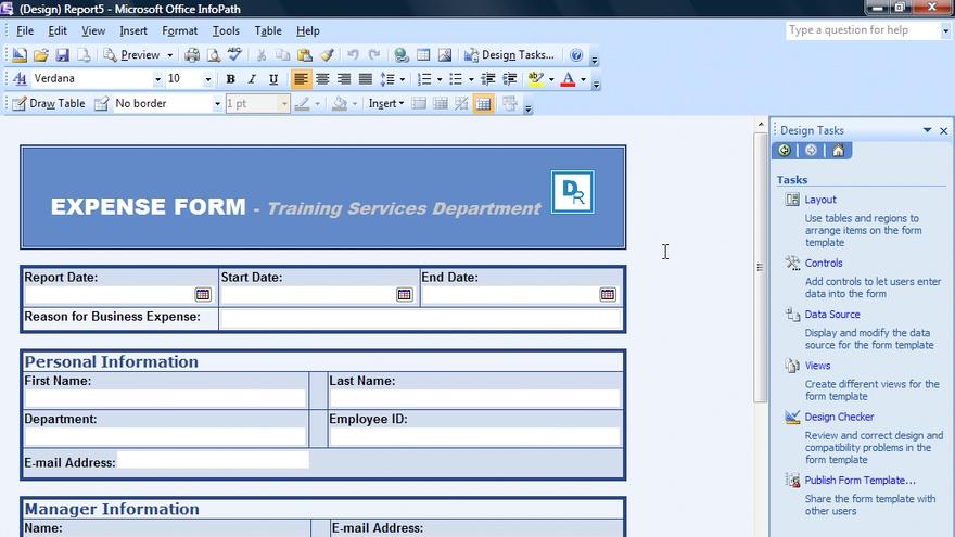 Download infopath designer 2010 trial.