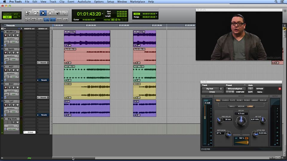 Get In the Mix with Pro Tools course image