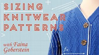 Sizing Knitwear Patterns course image