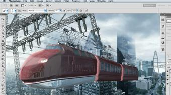 Photoshop Artist in Action: Uli Staiger's Skytrain course image