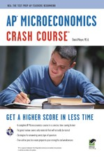 AP® Microeconomics Crash Course Book + Online course image