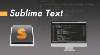 Sublime Text ¡Sé más productivo y desarrolla más rápido! course image