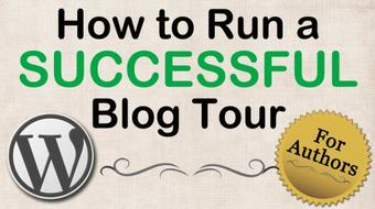 How to Run a Successful Blog Tour for Novelists course image