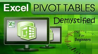 Excel Pivot Tables Demystified for Beginners course image