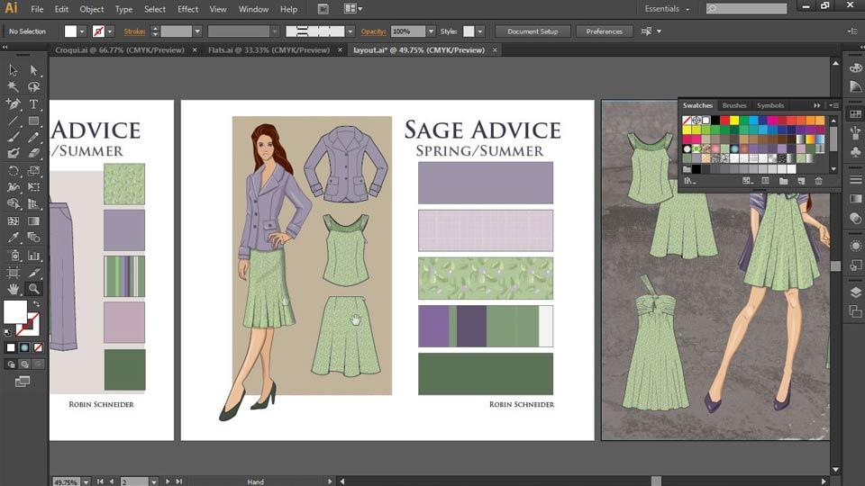 Lynda Illustrator For Fashion Design Drawing Flats Student Reviews