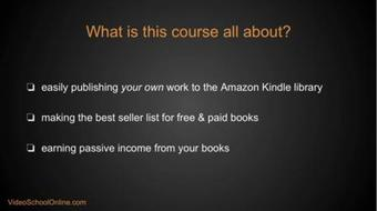 Publish a #1 Amazon Best Seller for Normal People course image