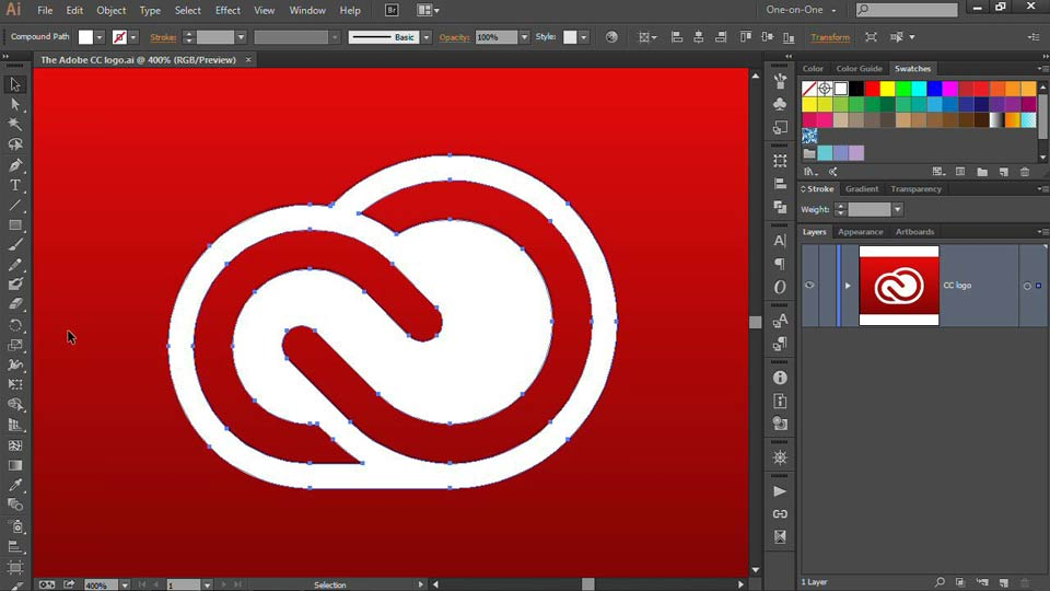 Illustrator CC One-on-One: Mastery course image