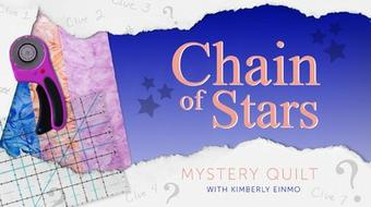 Chain of Stars Mystery Quilt course image