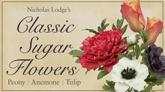 Classic Sugar Flowers: Peony, Anemone, Tulip course image