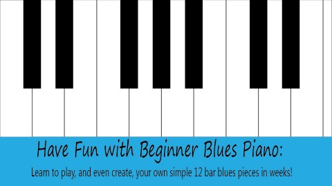 Have Fun with Beginner Blues Piano course image