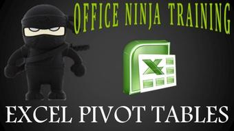 Excel Deep Dive: Pivot Tables Workshop course image