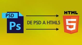 De PSD a HTML5 course image