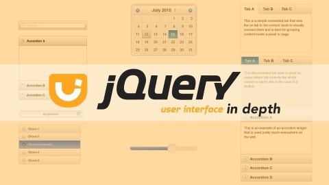 jQuery UI In Depth course image