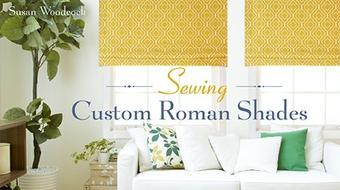 Sewing Custom Roman Shades course image