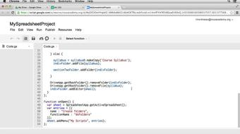 Up and Running with Google Apps Script course image