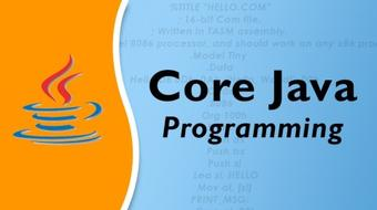 Core Java Programming course image